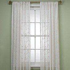 image of B. Smith Bermuda Window Curtain Panel in Ivory