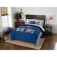 image of MLB Toronto Blue Jays Grand Slam Comforter Set