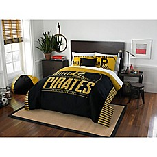 image of MLB Pittsburgh Pirates Grand Slam Comforter Set