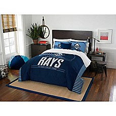 image of MLB Tampa Bay Rays Grand Slam Comforter Set