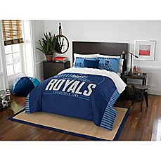 image of MLB Kansas City Royals Grand Slam Comforter Set