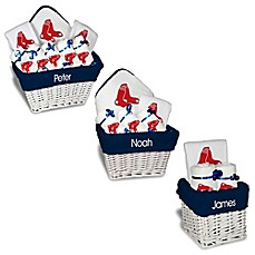 Personalized gift sets buybuy baby image of designs by chad and jake mlb personalized boston red sox baby gift basket negle Images