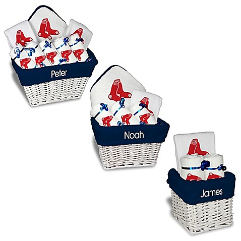 Designs by chad and jake mlb personalized boston red sox baby gift designs by chad and jake mlb personalized boston red sox baby gift basket negle Choice Image