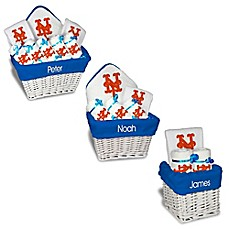 Personalized gift sets buybuy baby designs by chad and jake mlb personalized new york mets baby gift basket negle Image collections