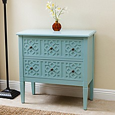 image of Abbyson Living® Harvard Accent Cabinet