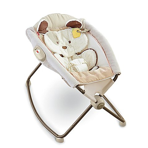 Fisher Price 174 My Little Snugapuppy Deluxe Rock N Play