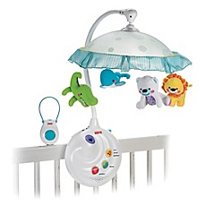 image of Fisher-Price® Precious Planet™ 2-in-1 Projection Mobile