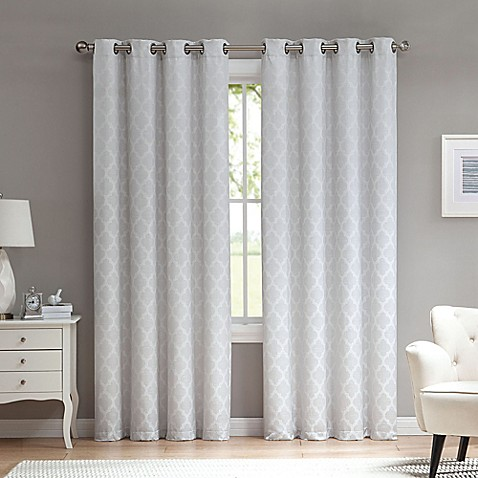 Marrakesh Grommet Top Window Curtain Panel
