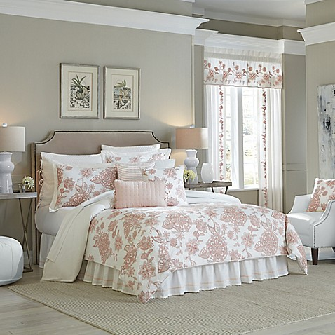 Buy Croscill 174 Fiona King Comforter Set In Blush From Bed