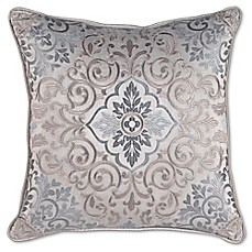 image of Croscill® Gabrijel Fashion Square Throw Pillow in Slate Blue