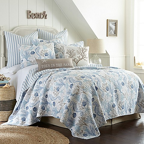 Sag Harbor Reversible Quilt Bed Bath Amp Beyond