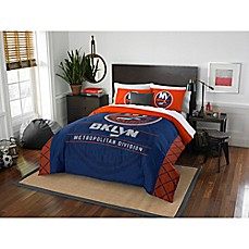 image of NHL New York Islanders Draft Comforter Set