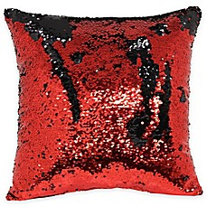image of Mermaid Sequin Throw Pillow