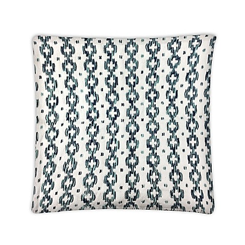 Envogue Decorative Pillows : Envogue International Camelia Embroidered Accent Pillow in Blue/Green - Bed Bath & Beyond