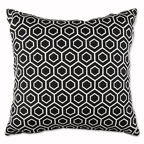 20 Inch Square Decorative Pillows : Pietown 20-Inch Square Throw Pillow - Bed Bath & Beyond