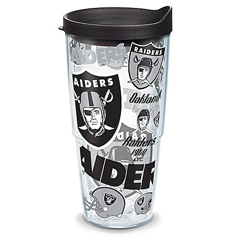 Tervis 174 Nfl Oakland Raiders 24 Oz Allover Wrap Tumbler
