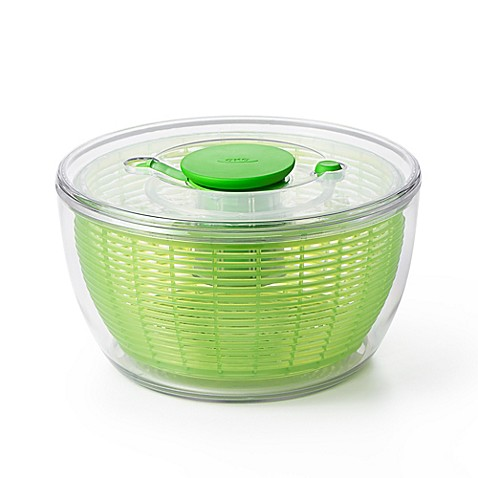 Oxo Good Grips 174 Green Salad Spinner Bed Bath Amp Beyond