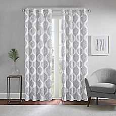 image of Regency Heights® Zion Grommet Top Room Darkening Window Curtain Panel