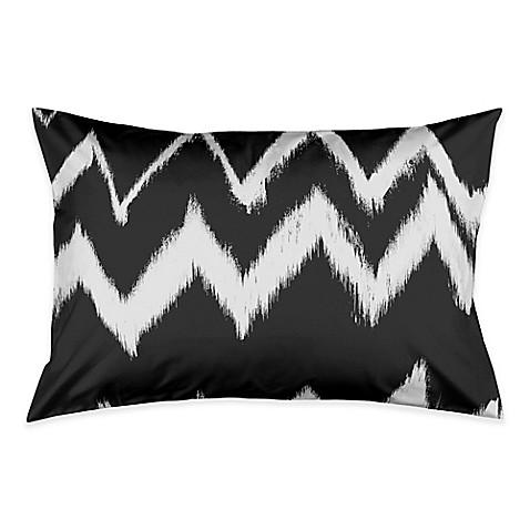 Vintage Chevron Pillow Sham In Black White Bed Bath Amp Beyond