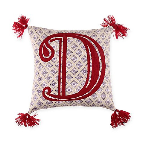 Monogram Letter Throw Pillow : Buy Monogram Letter