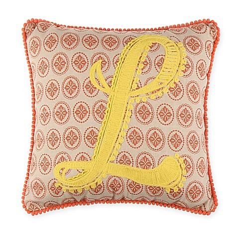 Monogram Letter Throw Pillow : Buy Monogram Letter