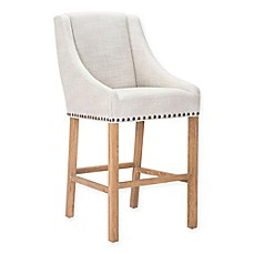 image of Zuo® Modern Indio Bar and Counter Stool in Beige  sc 1 st  Bed Bath u0026 Beyond & Counter Stools Swivel Stools Metal u0026 Leather Bar Stools - Bed ... islam-shia.org