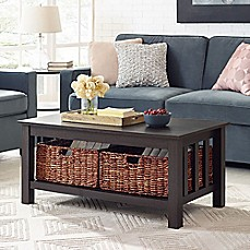 image of Walker Edison 40-Inch Storage Coffee Table