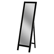image of Easel 18-Inch x 64-Inch Floor Mirror in Espresso