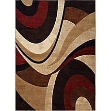 image of Home Dynamix Tribeca Waves 9-Foot 2-Inch x 12-Foot 5-Inch Area Rug