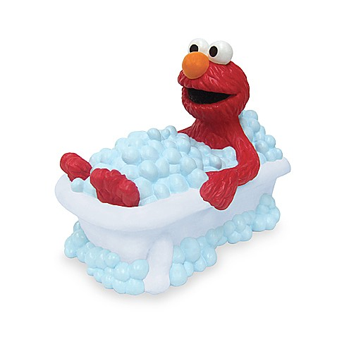 image of Ginsey Elmo Faucet Cover. Sesame Street Toys   Accessories   Sesame Street Books   Bed Bath