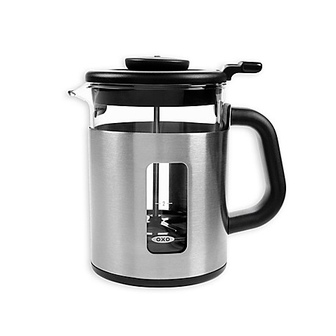 buy oxo good grips 4 cup french press coffee maker from bed bath beyond. Black Bedroom Furniture Sets. Home Design Ideas