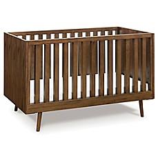 image of ubabub nifty timber 3in1 convertible crib in walnut