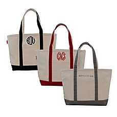 image of CB Station Medium Initial Boat Tote