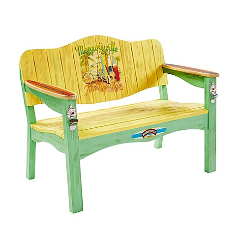 Buy Margaritaville Outdoor Island Life Surfboard Bench