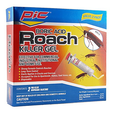 Buy Boric Acid 2 Pack Roach Killer Gel From Bed Bath Amp Beyond