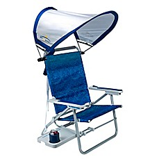 image of Big Surf Beach Chair with Sunshade™ and Slide Table
