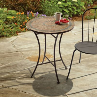 outdoor mosaic stone bistro table - Bed Bath And Beyond Patio Furniture