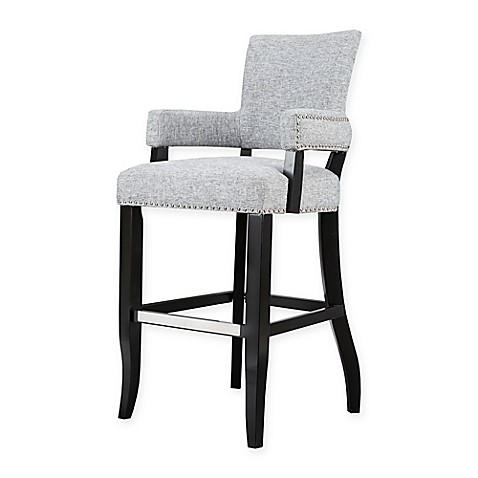 Buy Madison Park Dawson Barstool In Grey From Bed Bath