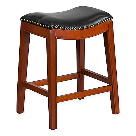 Flash Furniture Wood Backless Stool Bed Bath Amp Beyond