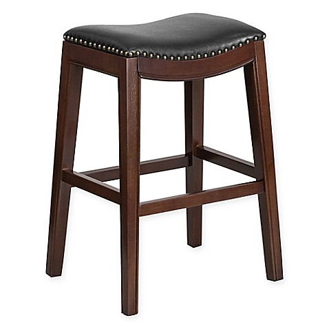 Buy Flash Furniture Wood 30 Inch Backless Barstool In