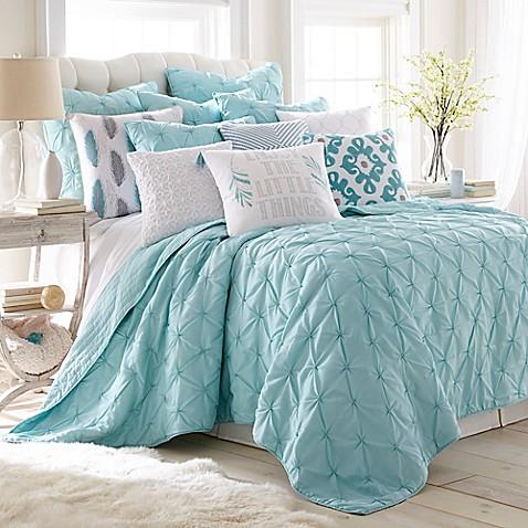 Levtex Home Elia Quilt Set In Teal Bed Bath Amp Beyond