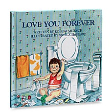 image of Love You Forever Hardcover Book