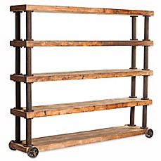 Image Of Moe S Home Collection Marino Shelf Bookcase