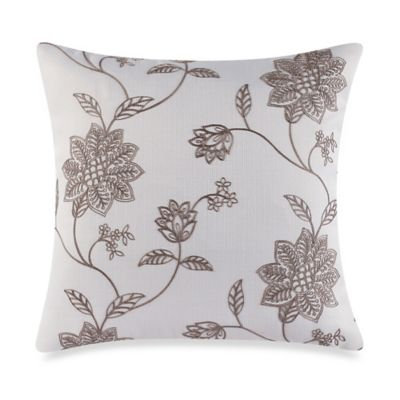 Decorative Pillow Makers : Make-Your-Own-Pillow Jaylynn Throw Pillow Cover in Natural - Bed Bath & Beyond