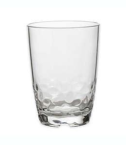 Vaso de acrílico old fashioned doble Pebbles® transparente