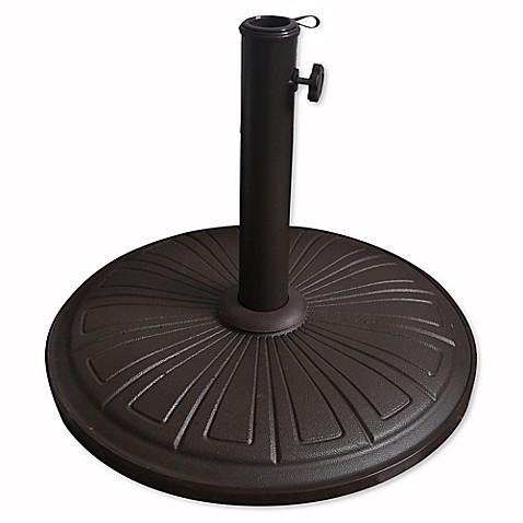 Cement Umbrella Base Bed Bath Amp Beyond