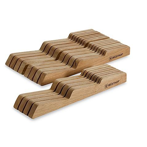 wusthof natural in drawer knife organizer bed bath beyond. Black Bedroom Furniture Sets. Home Design Ideas