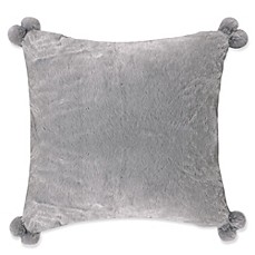 image of levtex home fabi european pillow shams in greyblue set of 2
