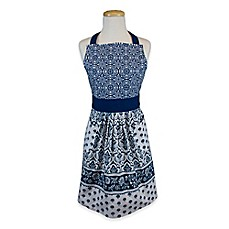 Delicieux Image Of Ikat Apron In Blue