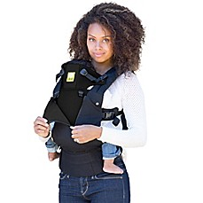 image of lillebaby® COMPLETE™ ALL SEASONS Baby Carrier in Black